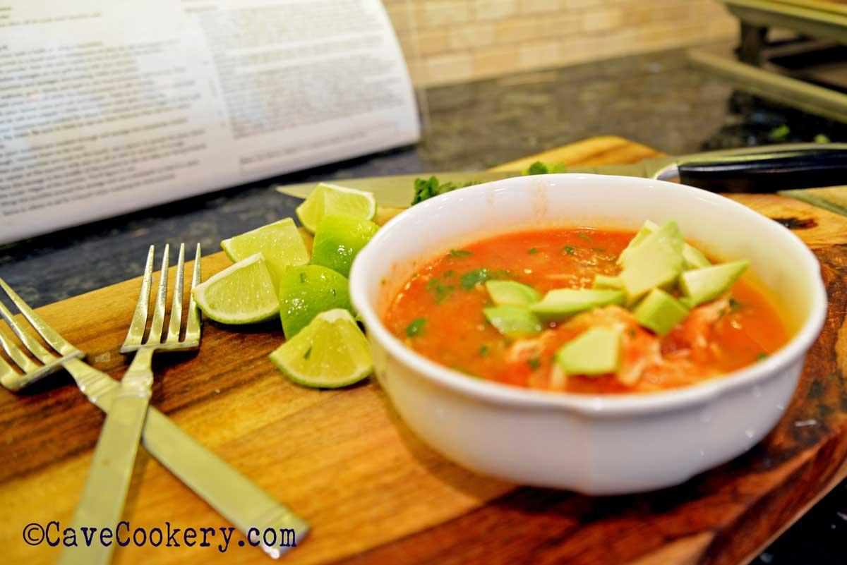Chicken Sin Tortillas Soup